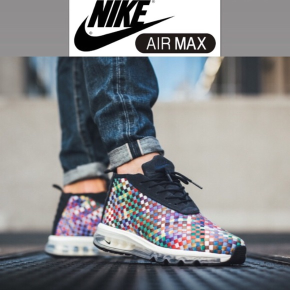 Nike Air Max Woven Boot Multicolor